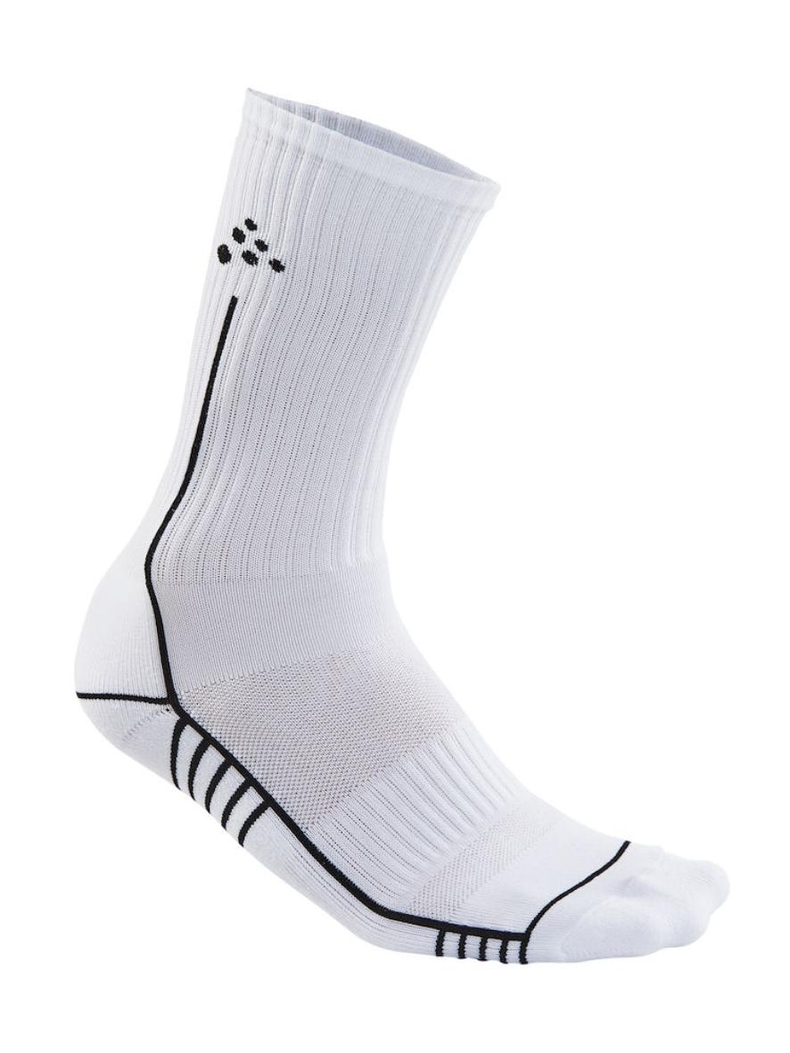 Hvid kort strømpe